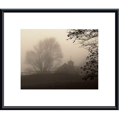 Printfinders 'Parish Hill Barn' by Christine Triebert Framed Photographic Print