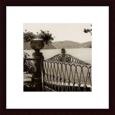 Printfinders 'Cernobbio Vista' by Alan Blaustein Framed Photographic Print