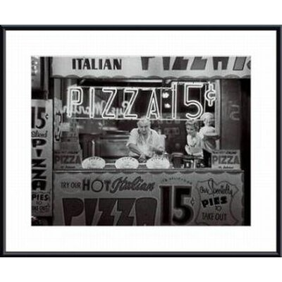 Printfinders 'Hot Italian Pizza' by Nat Norman Framed Photographic Print