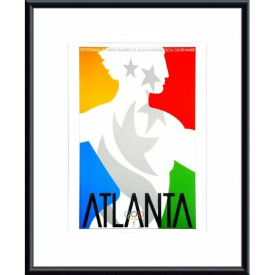 Printfinders Atlanta 1996 Framed Vintage Advertisement