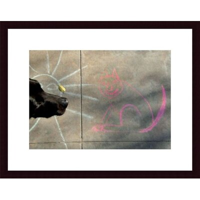 Printfinders Sun, Cat and Dog by John K. Nakata Framed Photographic Print