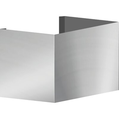"Euroline Series Wall Mount Duct Cover Size: 10"" H x 10"" W x 10"" D"