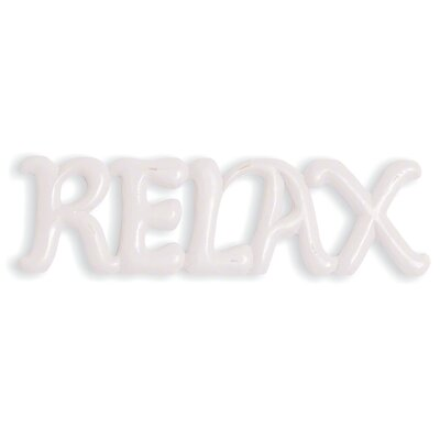"Oceans Apart Truco ""Relax"" Wall Decor"