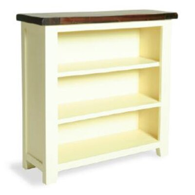 Oceans Apart Khalua Painted Guel Low Wide 90cm Standard Bookcase