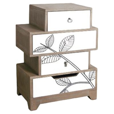 Oceans Apart Manso 4 Drawer Chest