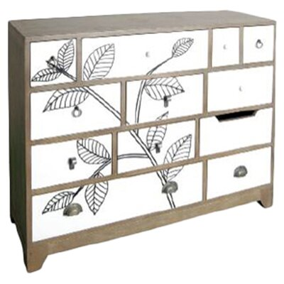Oceans Apart 12 Drawer Chest of Drawers