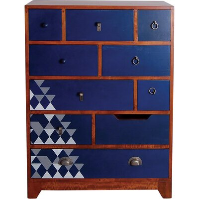Oceans Apart Manso 10 Drawer Chest