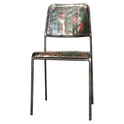 Oceans Apart Recycled Boat Dining Chair