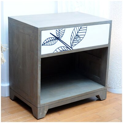 Oceans Apart Manso 1 Drawer Bedside Table