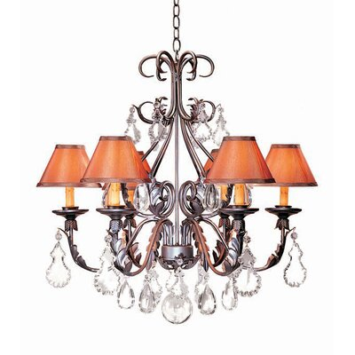 2nd Ave Design French Elegance 6 Light Chandelier