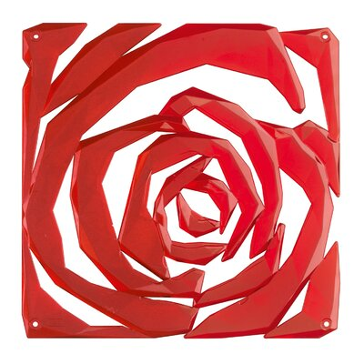 Berard Room Divider Color: Red