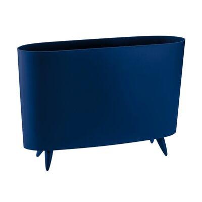 Milano Magazine Rack Color: Blue