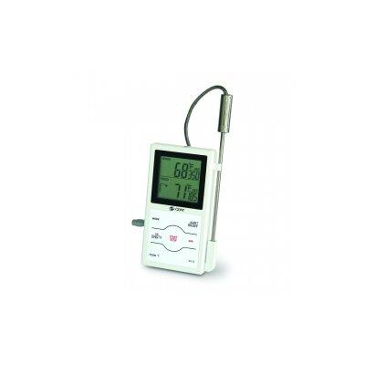 Dual-Sensing Probe Thermometer/Timer