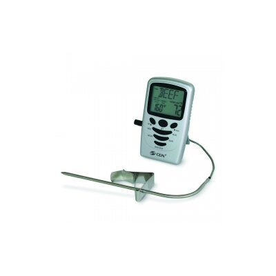Programmable Probe Thermometer/Timer