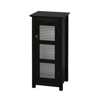 Casselman Floor Glass 1 Door Accent Cabinet