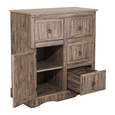 Brents 4 Drawer 1 Door Accent Cabinet
