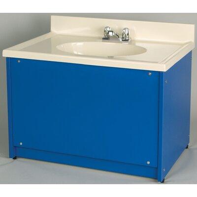 "1000 Series 122"" Single Bathroom Vanity Set Color: Sun Yellow"
