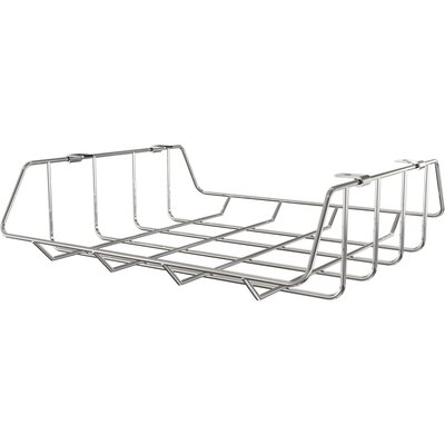 """Shapes 15"""" W x 13.5"""" D Desk Drawer Finish: Silver"""