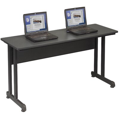 55'' W PJ Training Table with Wheels