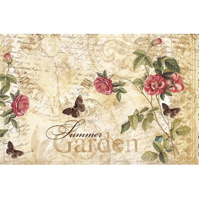 Akzente Gallery Summer Rose Doormat