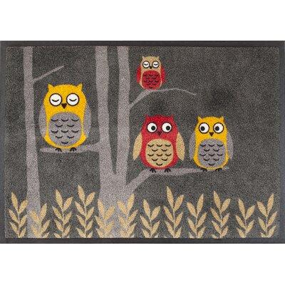 Akzente Owl Doormat