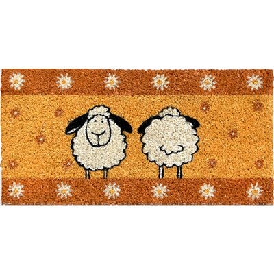 Akzente Coconut Sheep Doormat