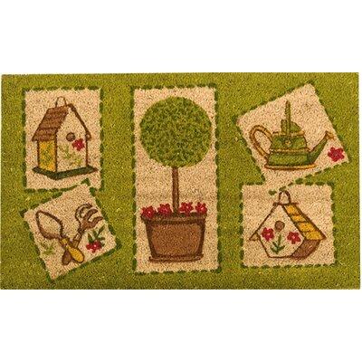 Akzente Kokos Happy Garden Doormat