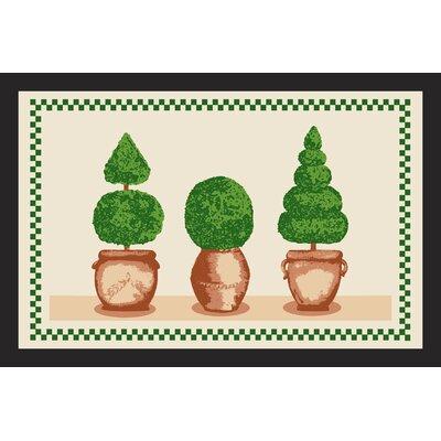 Akzente Box Trees Deco Wash Doormat