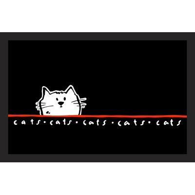Akzente Cat Deco Wash Doormat