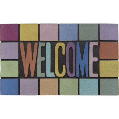 Akzente Master Rainbow Welcome Doormat