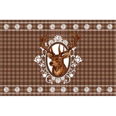 Akzente Gallery Alp Deer Doormat