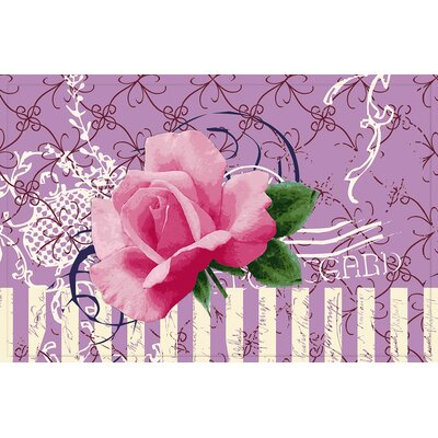 Akzente Gallery Rose Doormat