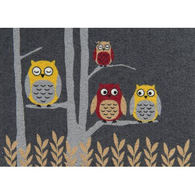 Akzente Clean Keeper Owl Doormat