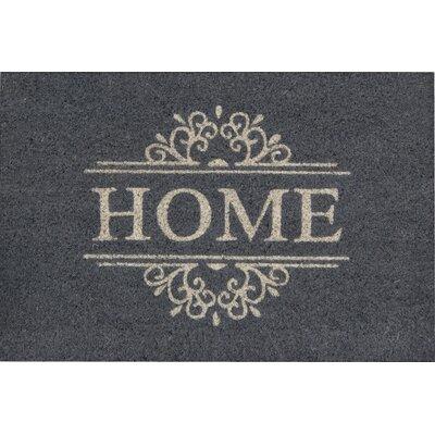 Akzente Kokos Home Gravur Doormat