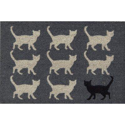 Akzente Kokos Cats Doormat