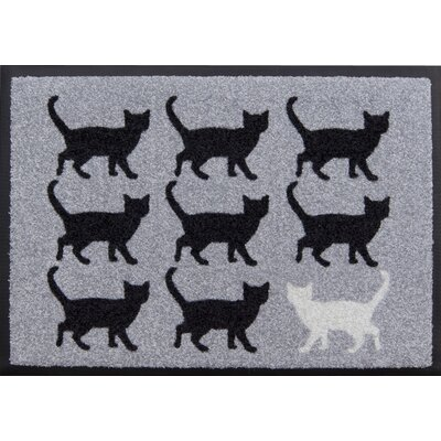 Akzente Easy Clean Cats Doormat