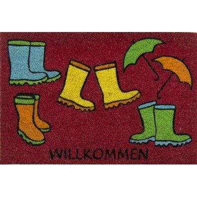 Akzente Kokos Boots Doormat
