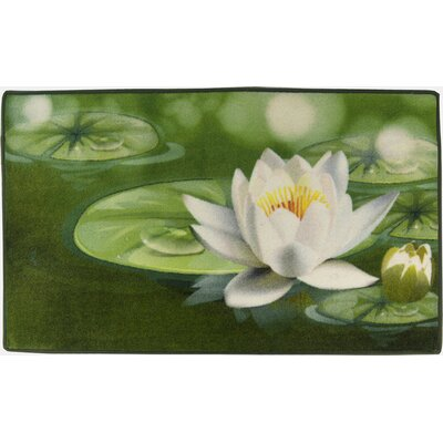 Akzente Water Lily Bath Rugs