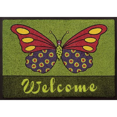 Akzente Easy Clean Butterfly Doormat