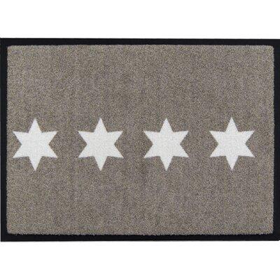 Akzente Easy Clean Stars Doormat