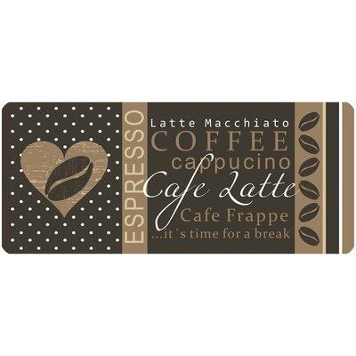 Akzente Coffee Brown Area Rug