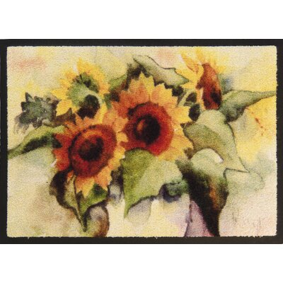 Akzente Sunflower Doormat