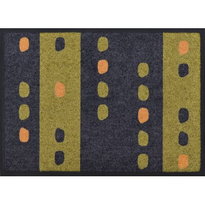 Akzente Green Dots Doormat
