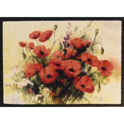 Akzente Poppy Bouquet Doormat