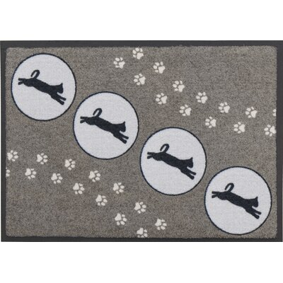 Akzente Jumping Cat Doormat