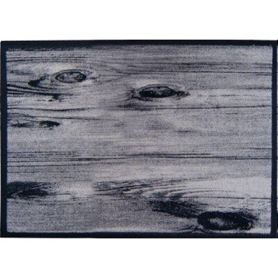 Akzente Grey Wooden Hall Doormat