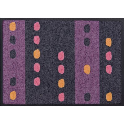 Akzente Purple Dots Doormat