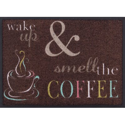 Akzente Wake Up Coffee Doormat