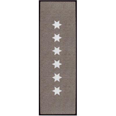 Akzente Stars Brown Indoor/Outdoor Area Rug