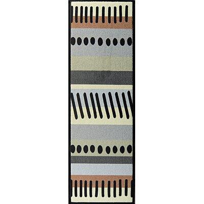 Akzente Ornament Stripes Multi-Coloured Indoor/Outdoor Area Rug